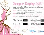 Designer Display 2013 — Fashion For A Cause